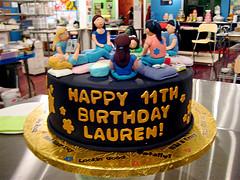 Pajama Party Cake Topper