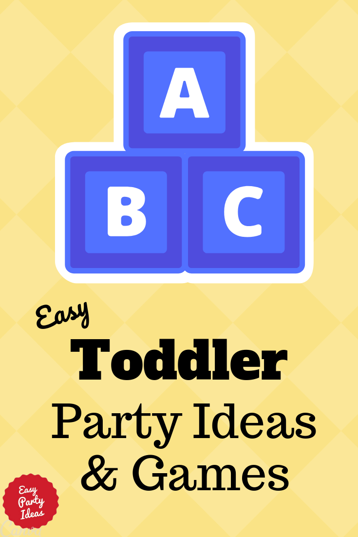 Ideas and Games for Toddler Birthday Parties