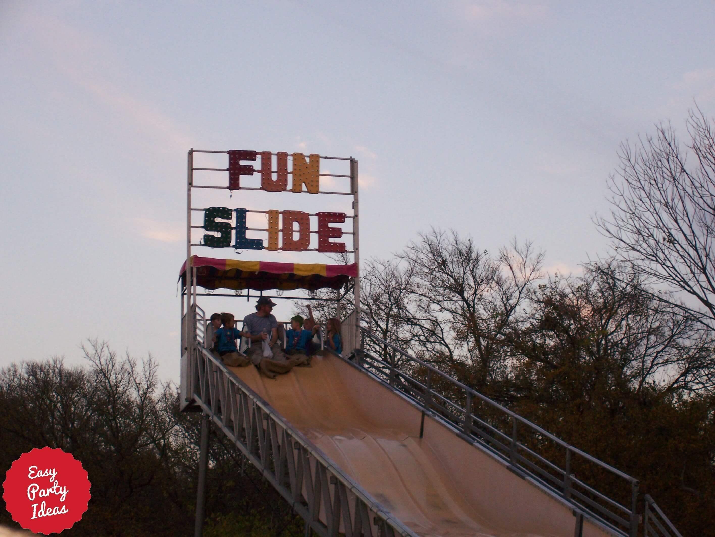 School Carnival Slide
