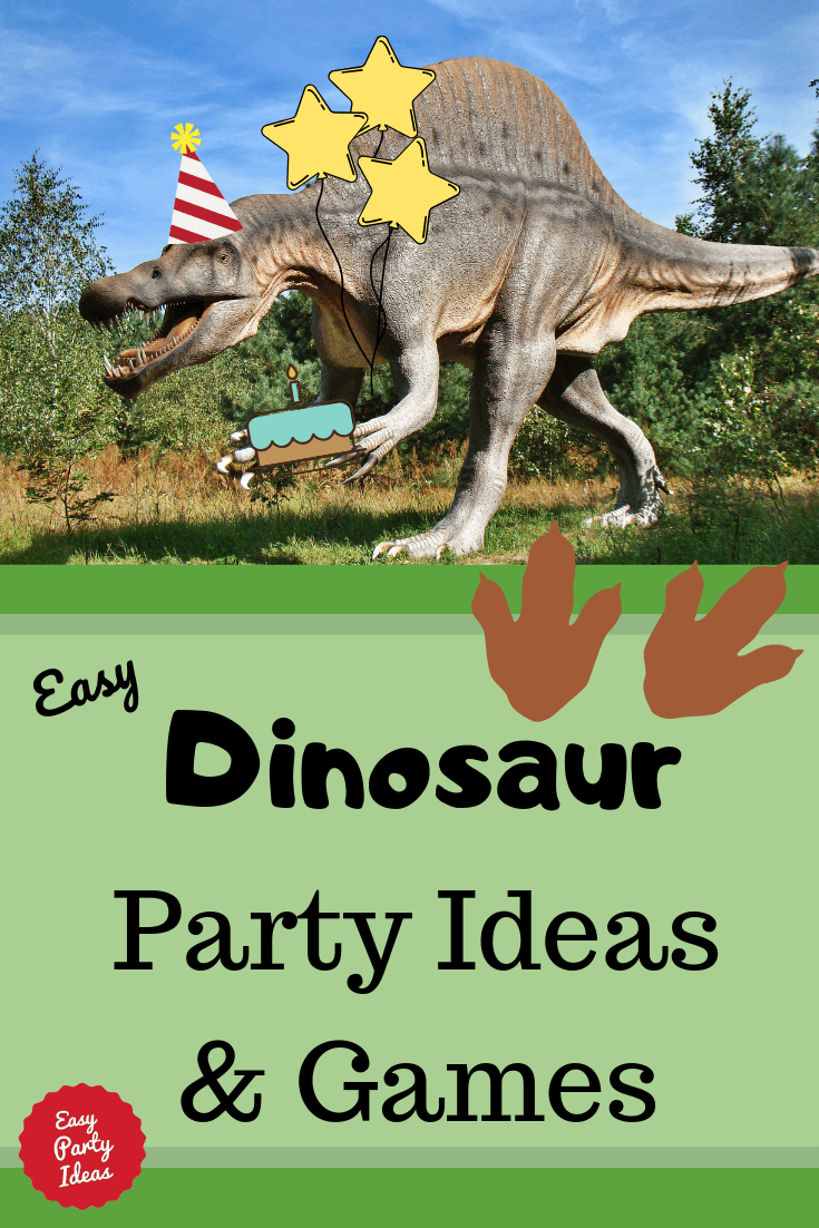 Dinosaur party ideas and games