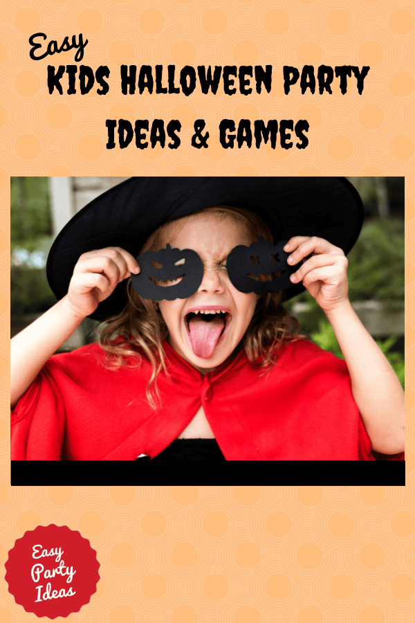 Kids Halloween Party Ideas and Games