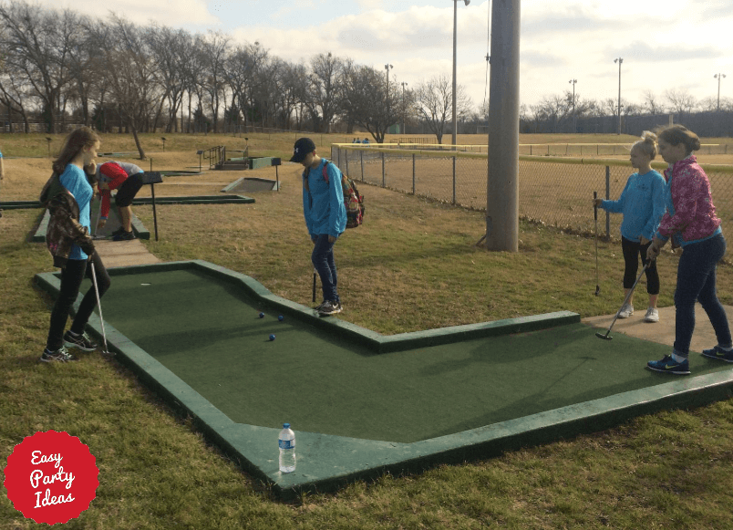 School Carnival Golf
