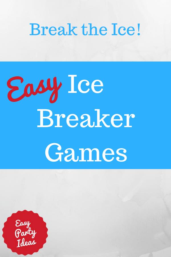 Ice Breaker Games