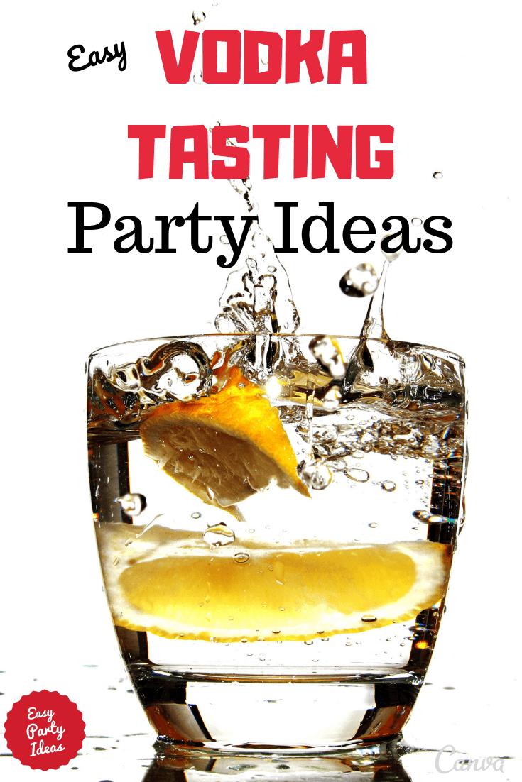 Vodka Tasting Party