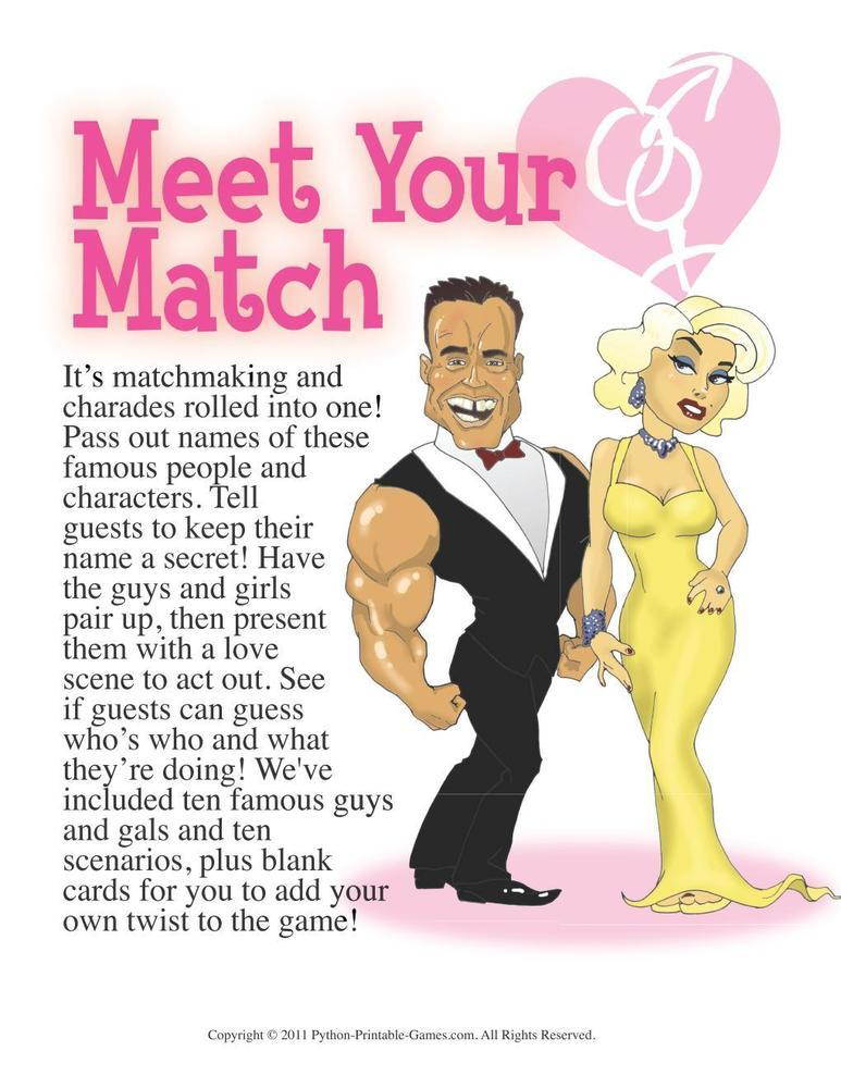 Meet Your Match Game
