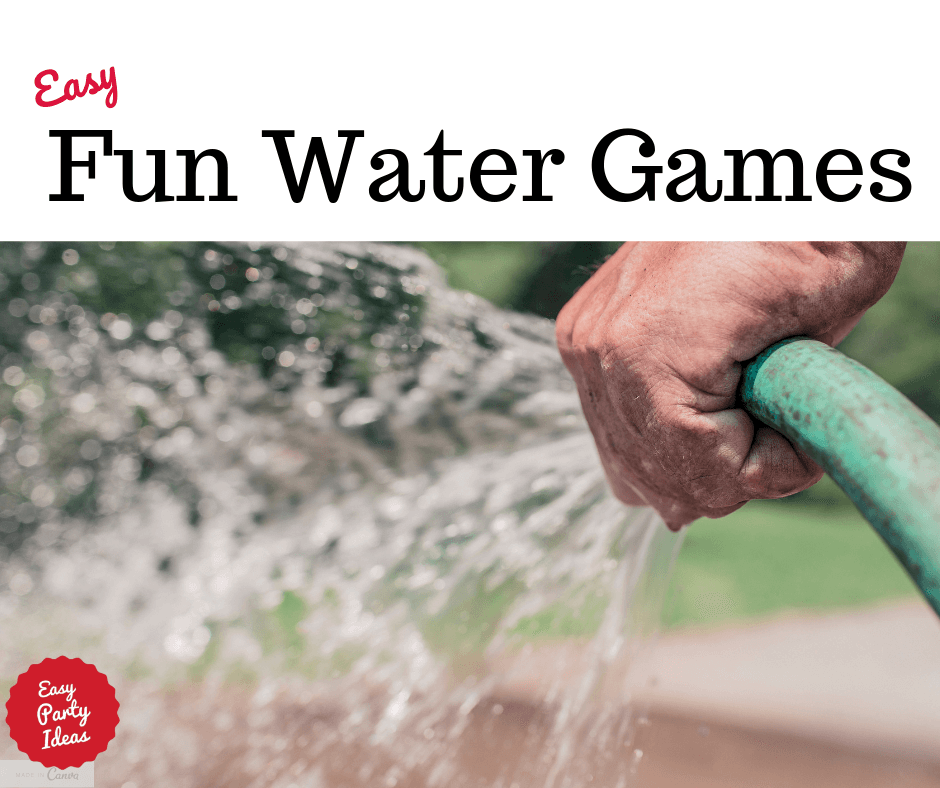 A list of fun water games to help you stay cool on hot summer days!