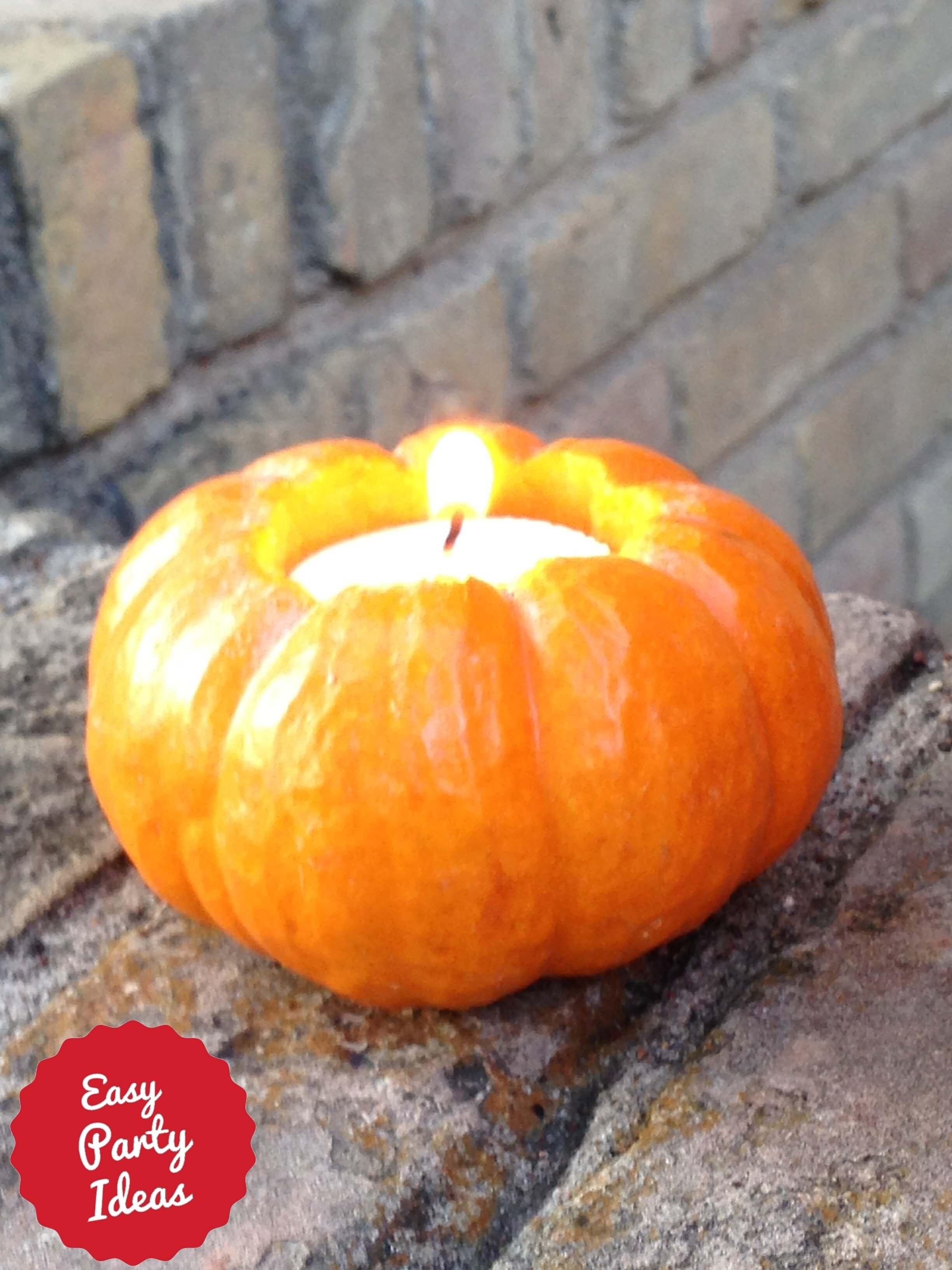 Pumpkin Votive Candle