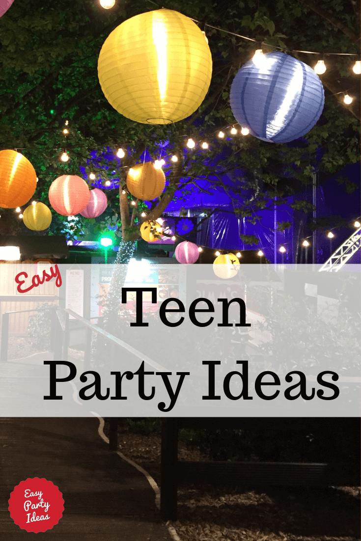 Teen Party Ideas