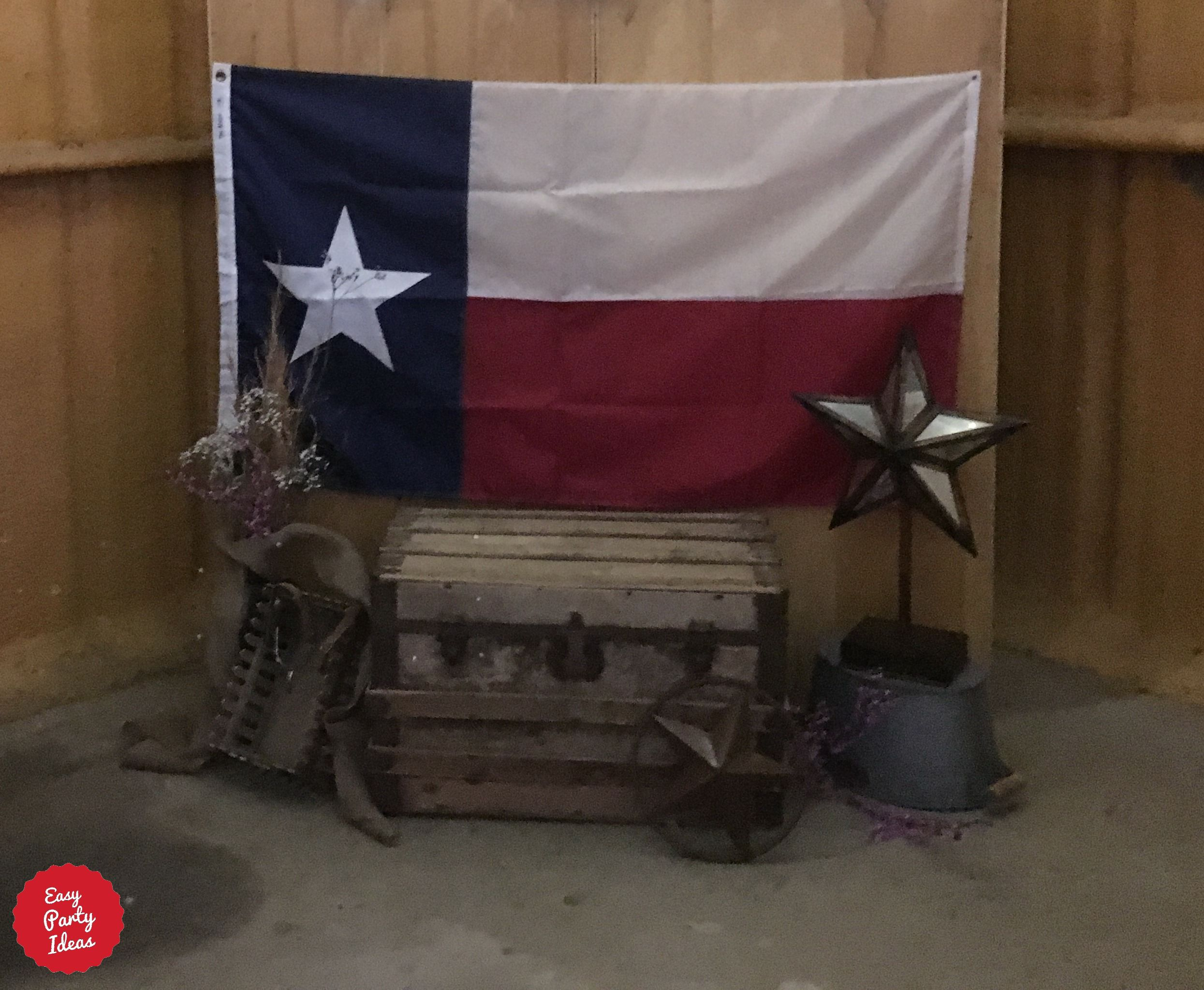 Western Party Photo Booth