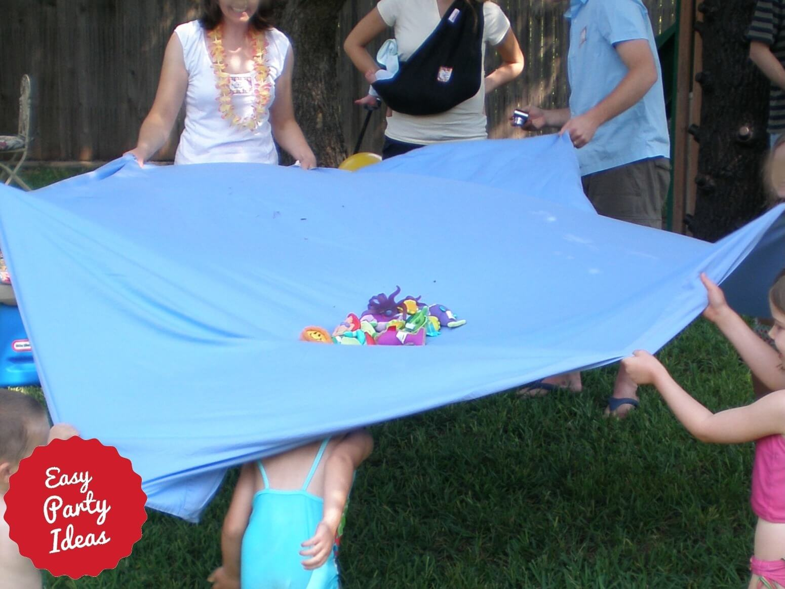Parachute Party Game Under the Sea