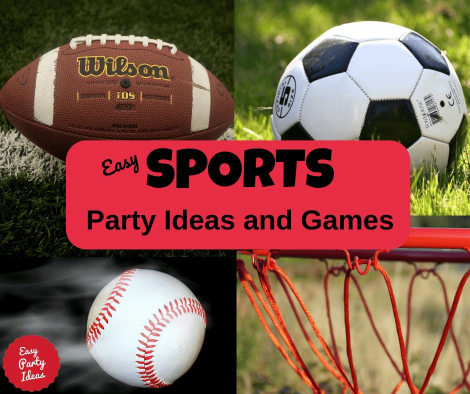 Sports Party theme ideas