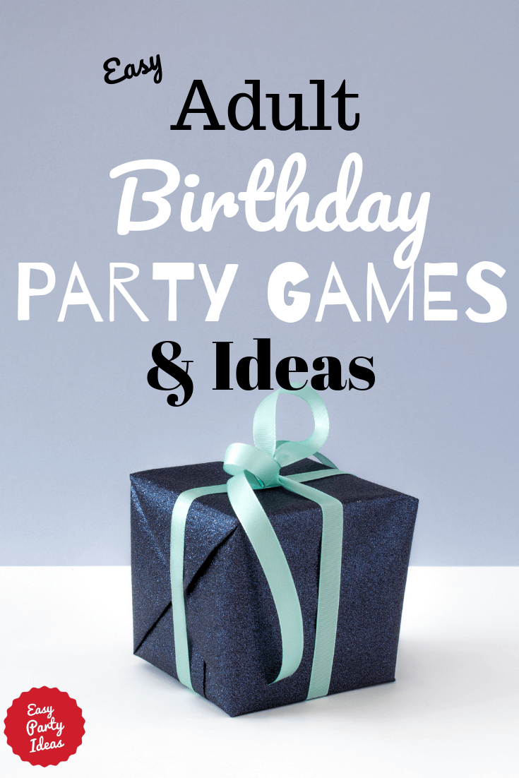 image regarding Free Printable Birthday Party Games Adults named Grownup Birthday Social gathering Game titles and Plans