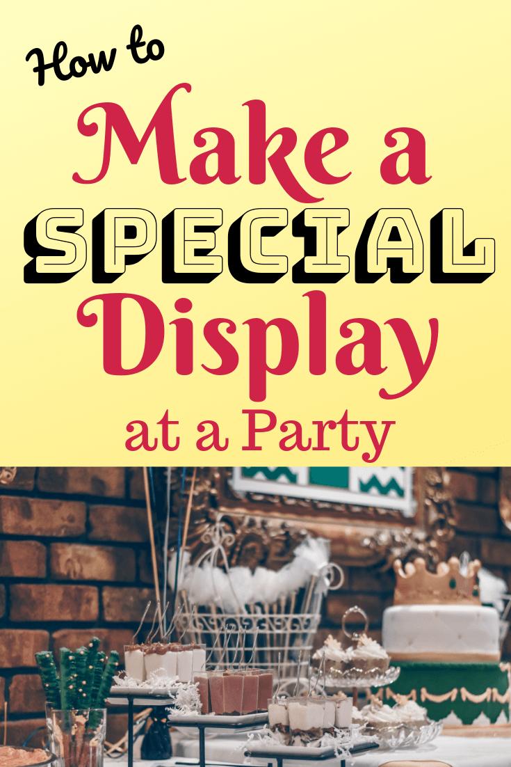 Adult Birthday Table Display Ideas