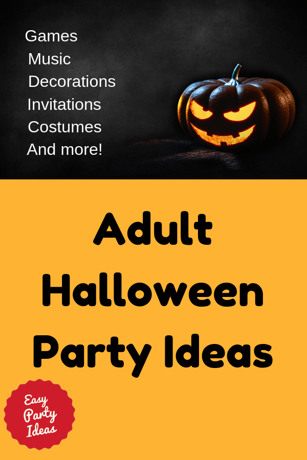 Adult Halloween Party Ideas and Games