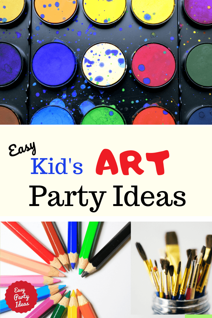 Easy Art Party Ideas