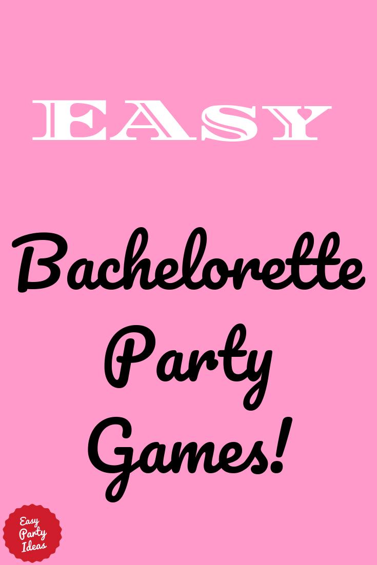 Free Bachelorette Party Game
