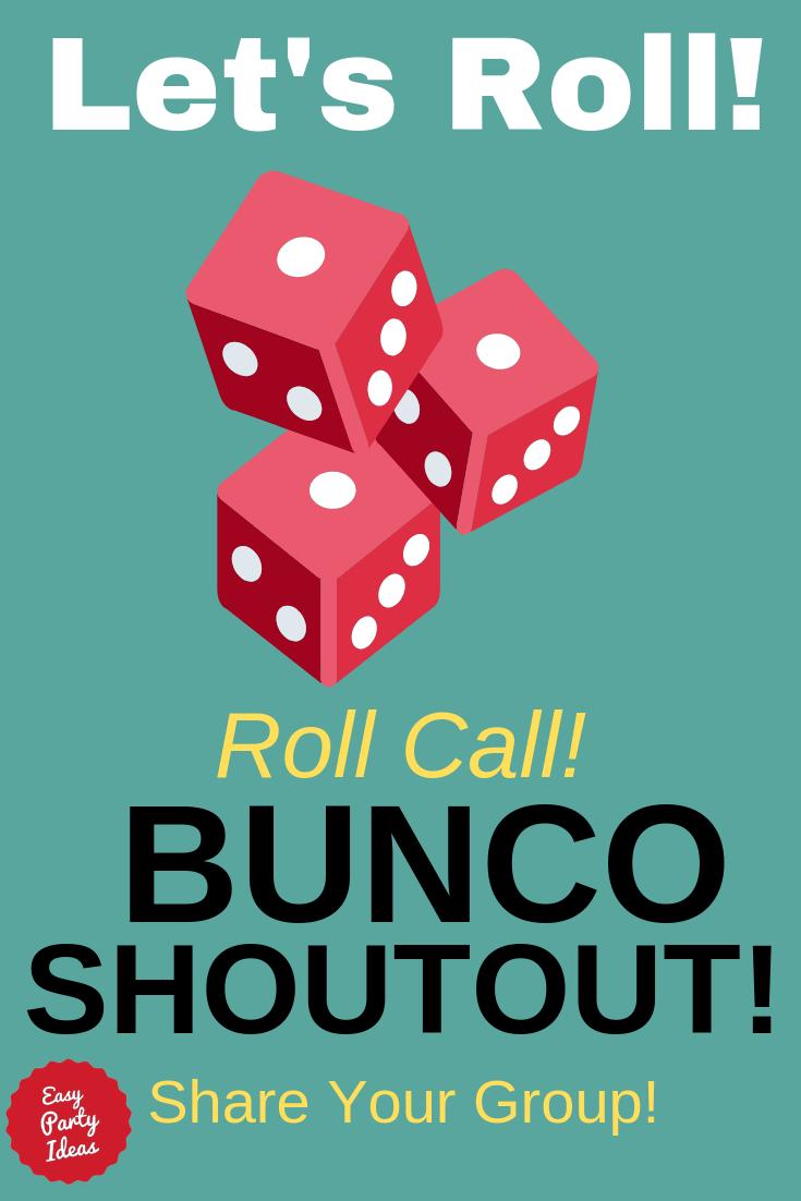 Bunco Shoutout!