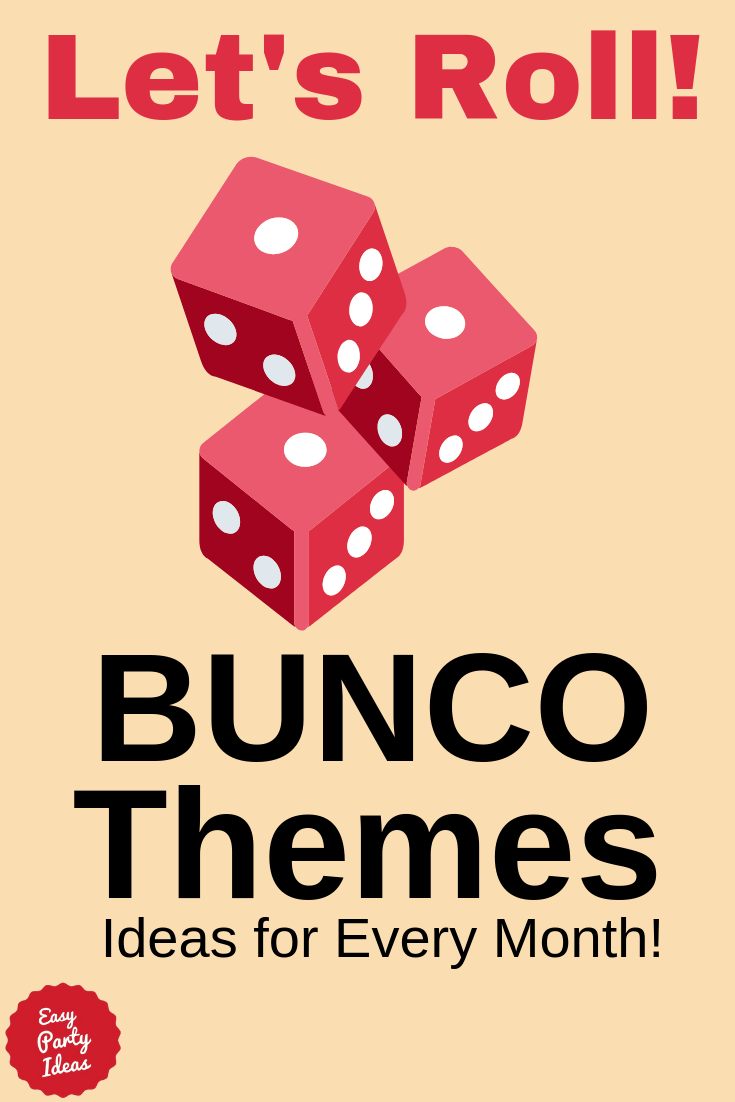Bunco Themes - Themes for every month!