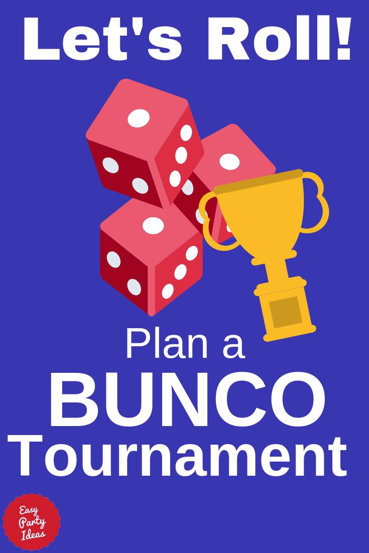 Bunco Tournament FAQ