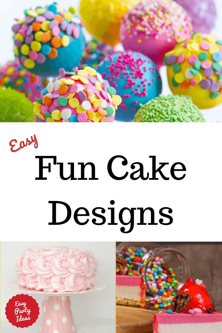 Birthday Cake Ideas - Fun Cake Designs