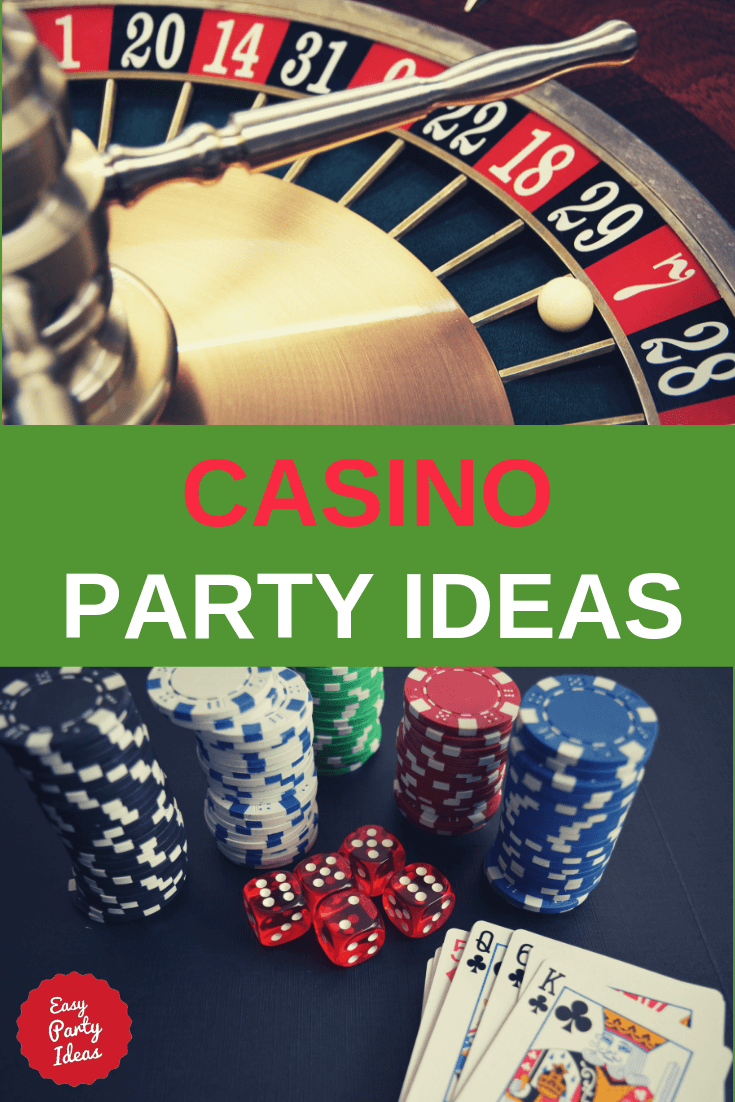 Easy Casino party ideas for a James Bond or Las Vegas style casino night!