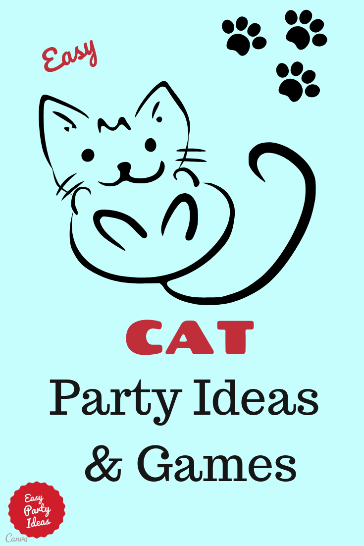 Cat Party Ideas and Games