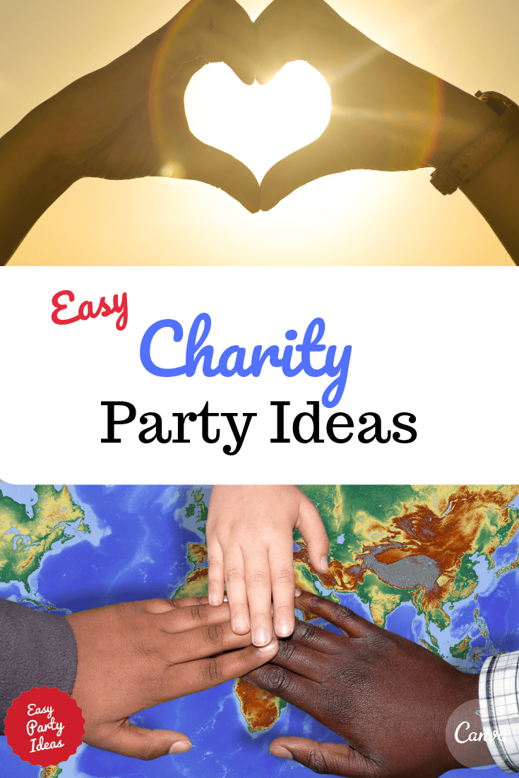 Charity Party Ideas