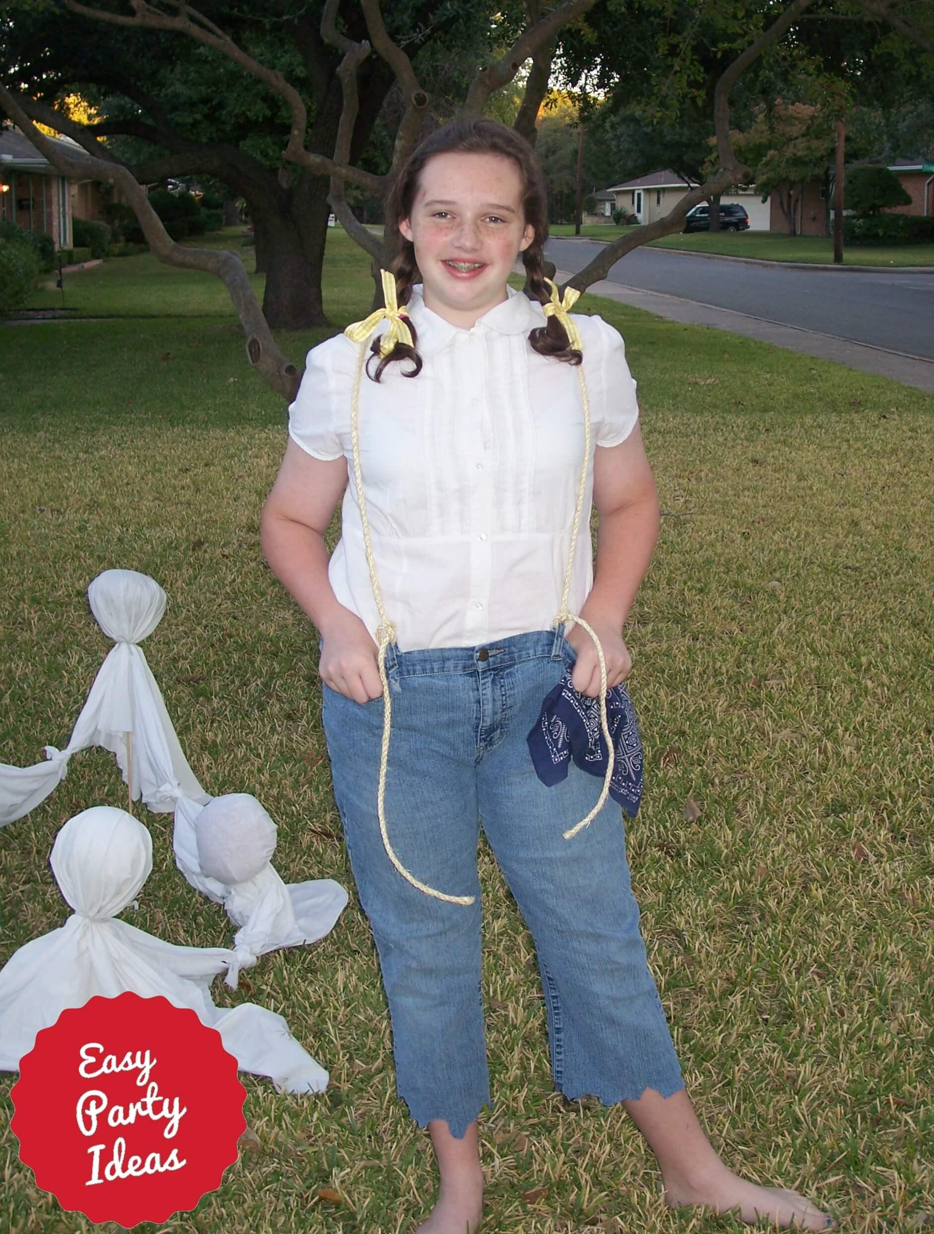 Homemade Hillbilly Costume