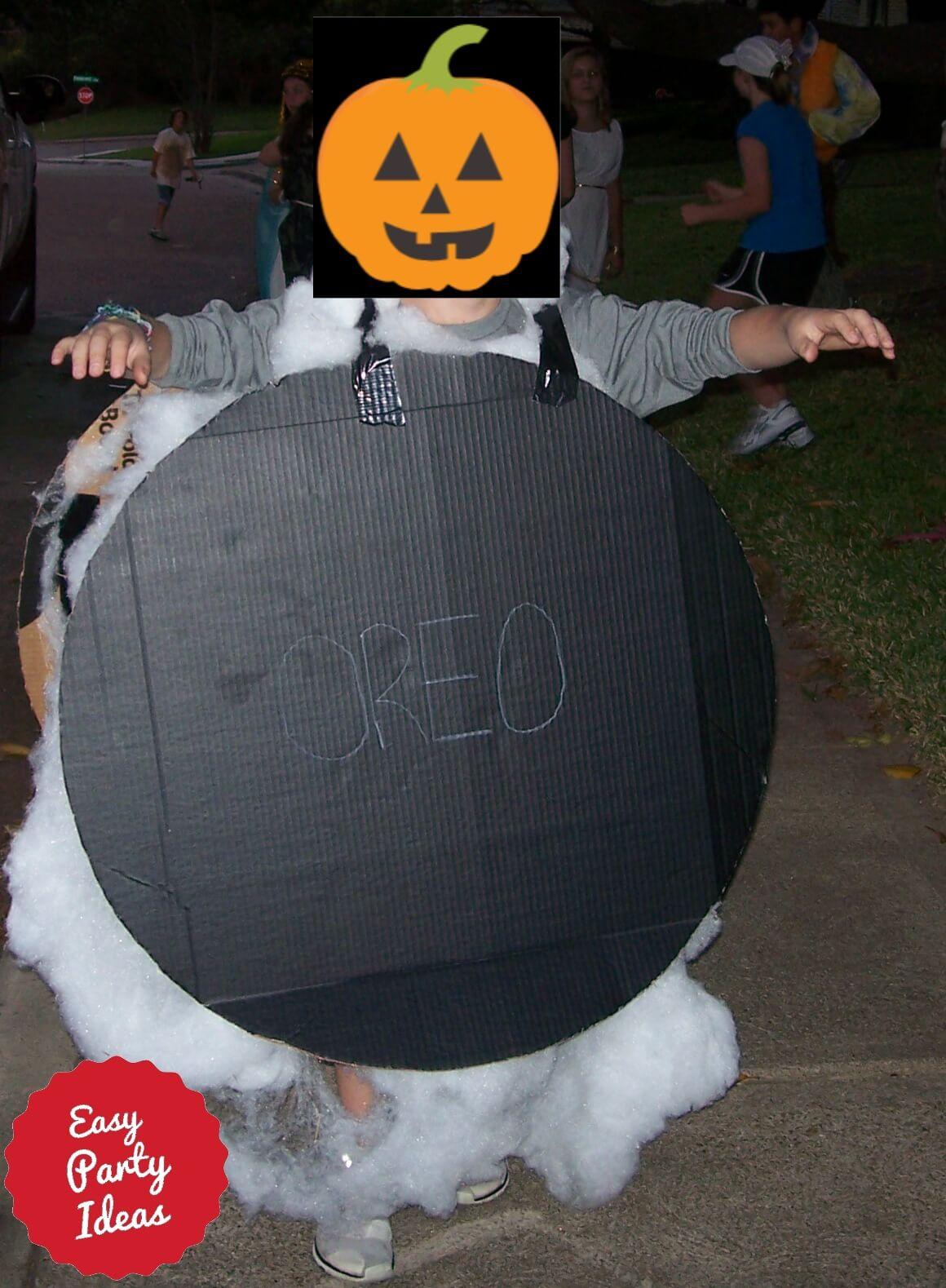 Homemade Oreo Costume