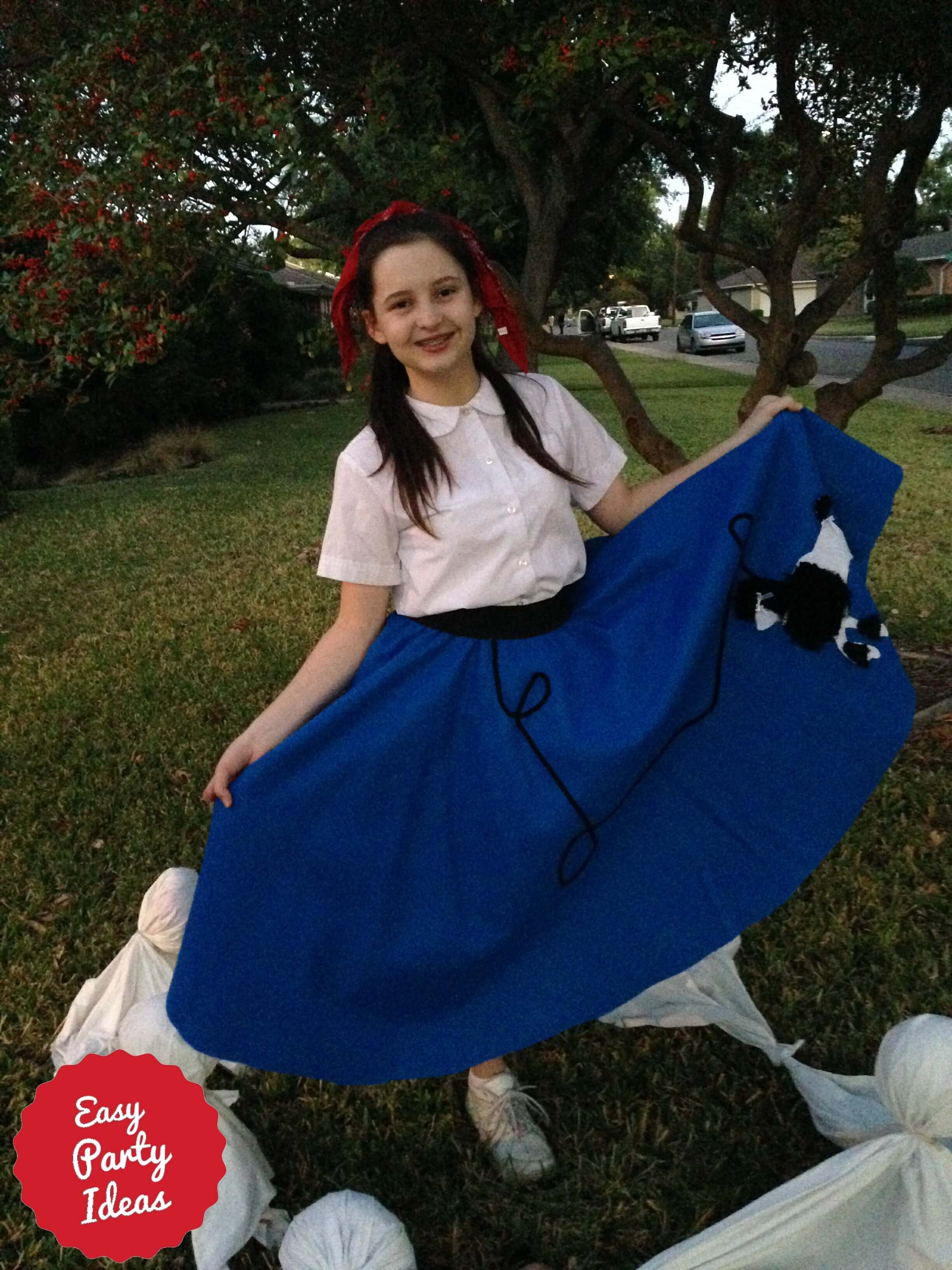 Costume Poodle Skirt