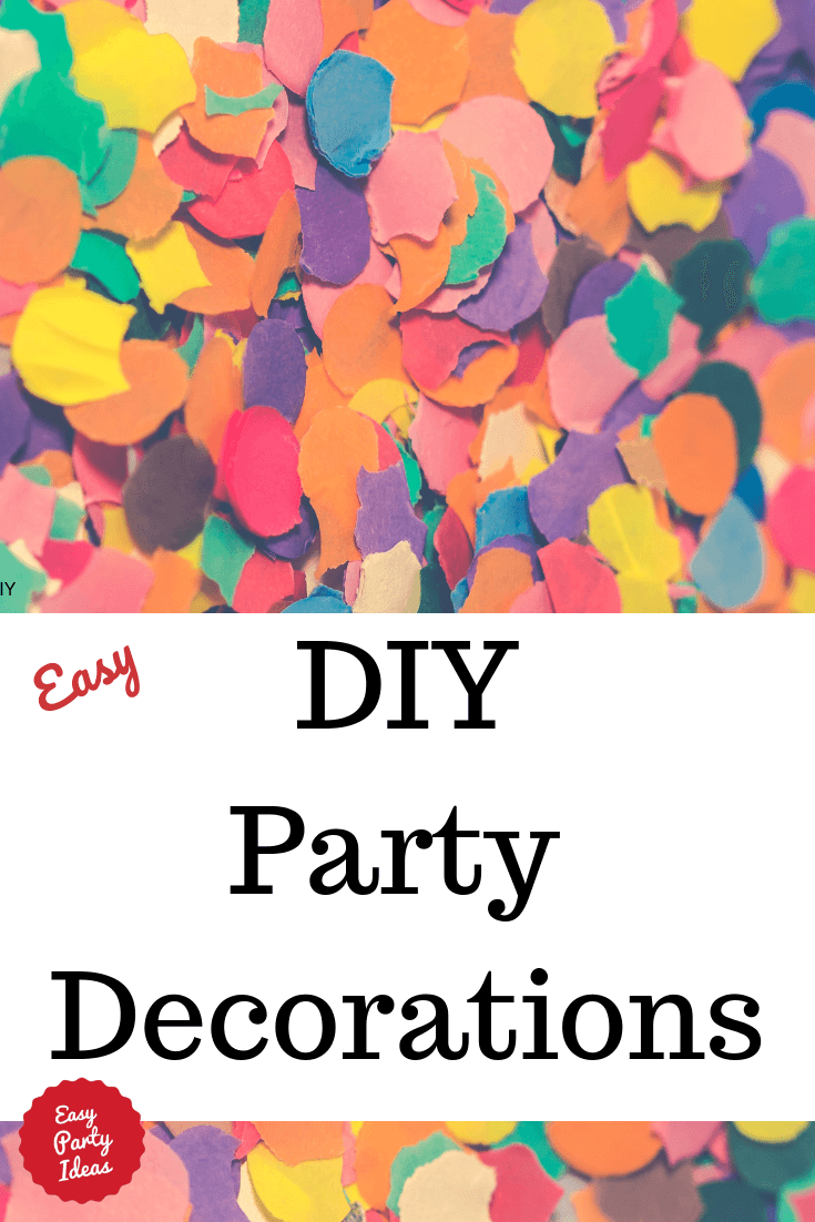 Homemade Party Decorations