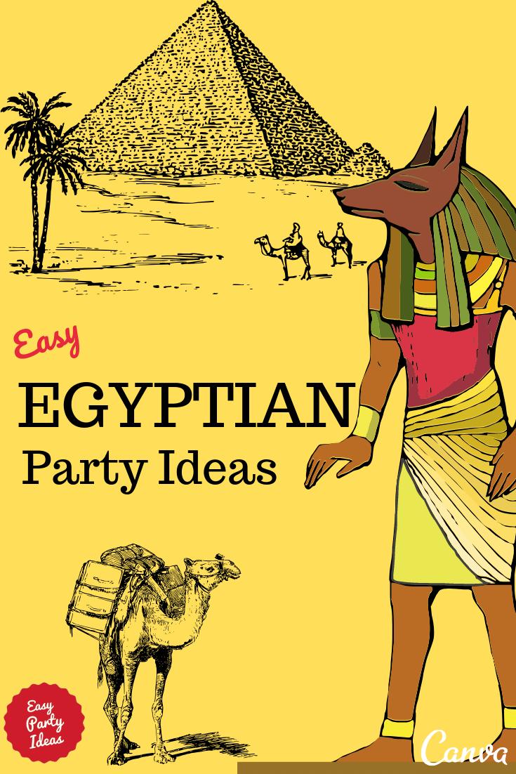 Egyptian Party Ideas