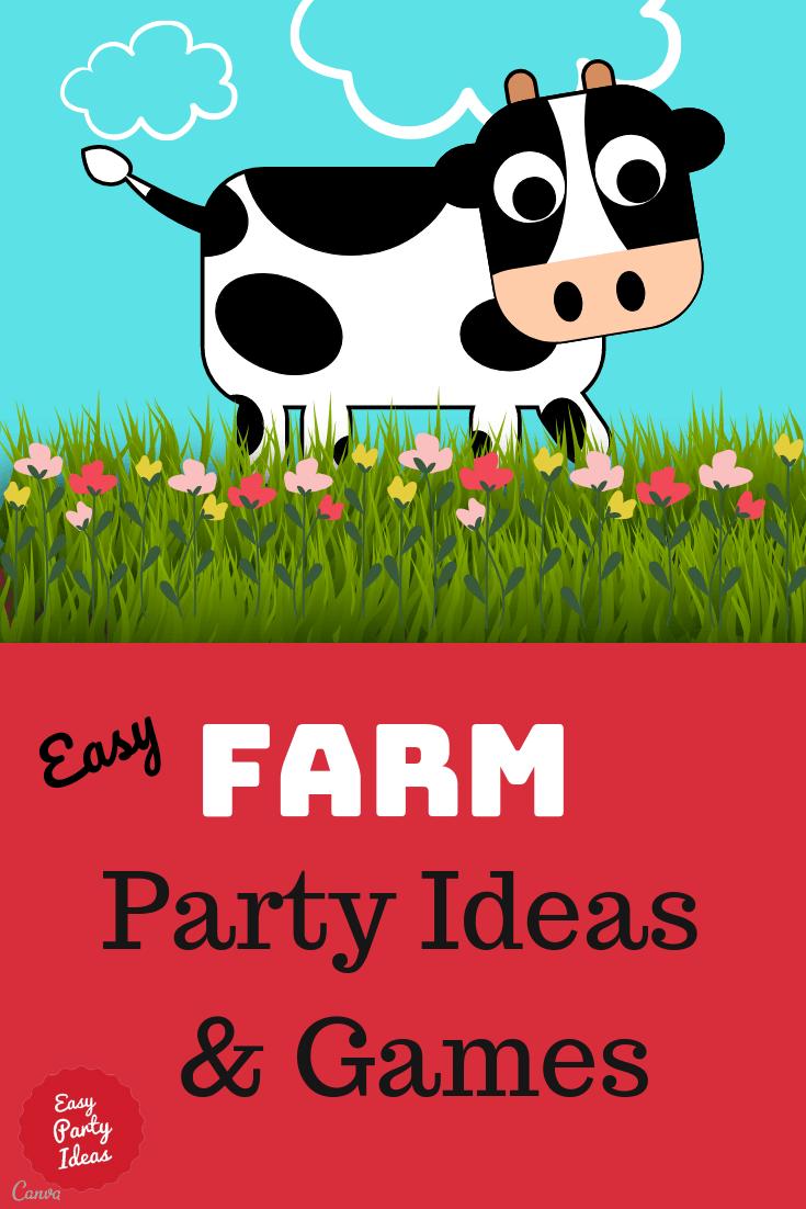Farm Party Games