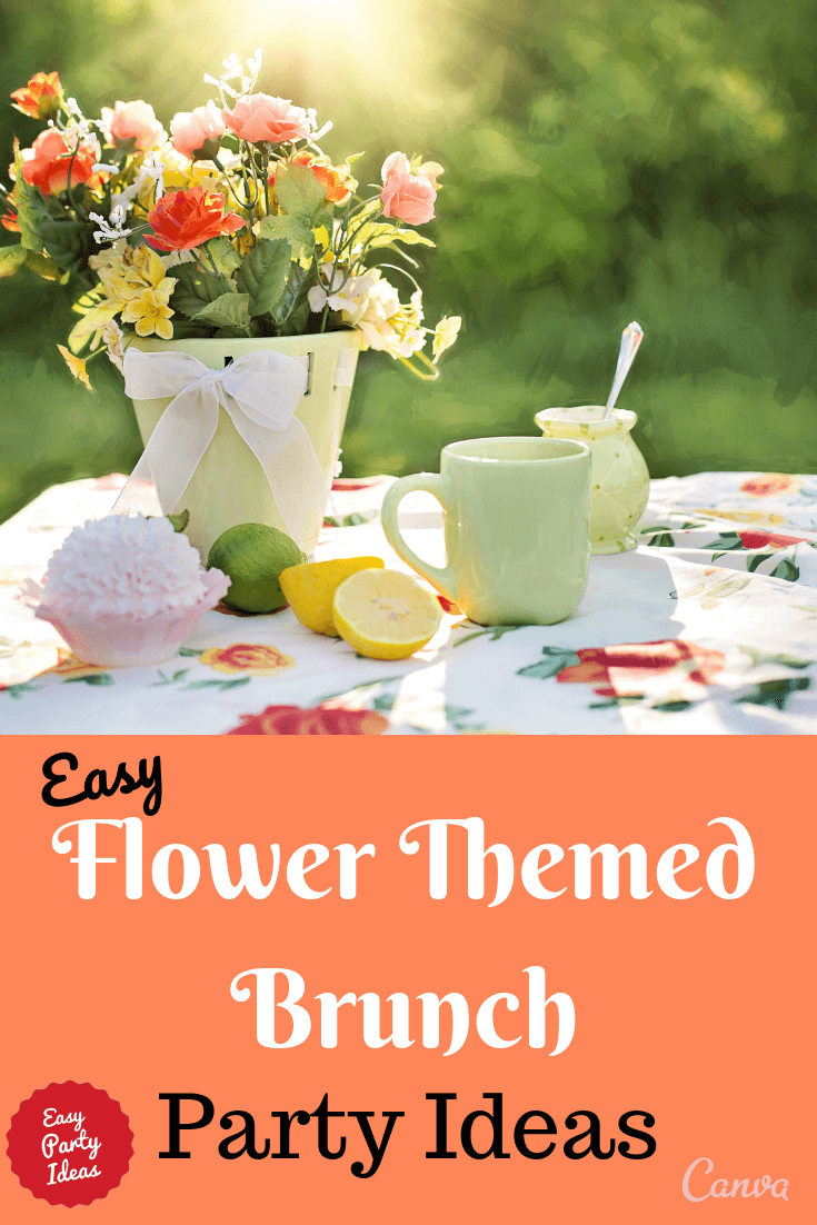Flower Theme Brunch Ideas