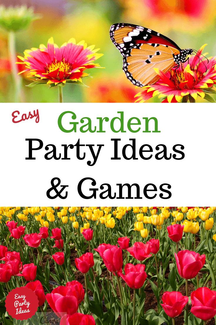 Garden Party Ideas and Games
