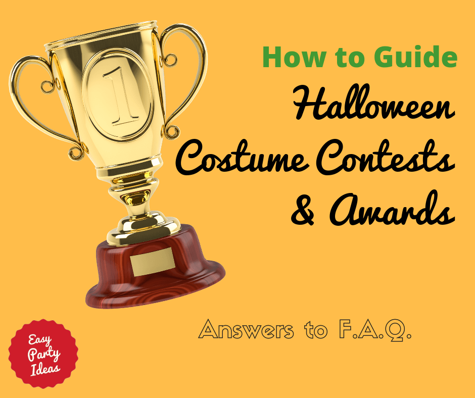 How to Plan a Halloween Costume Contest and Awards