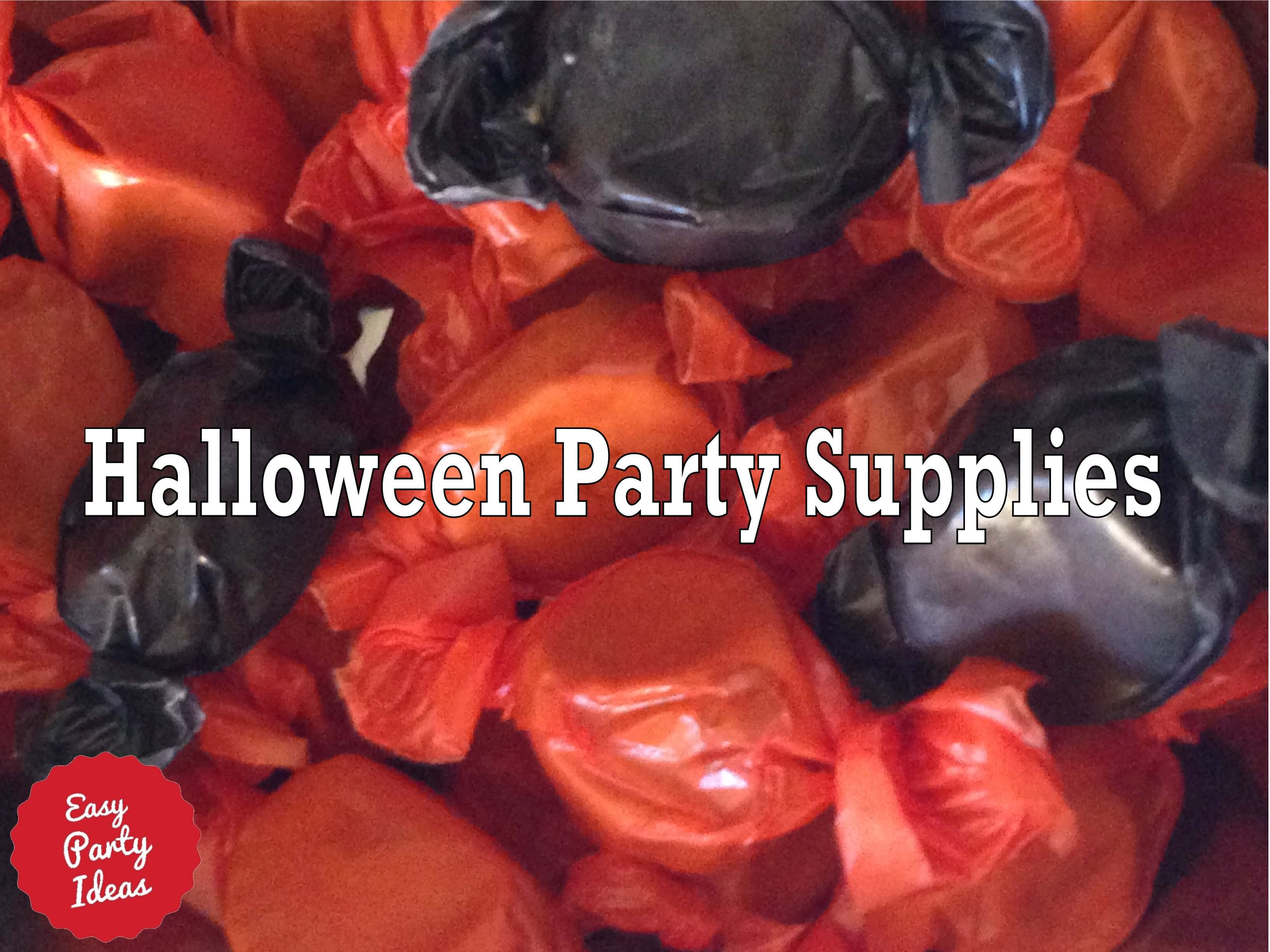 Halloween Party Supplies Black and Orange Taffy