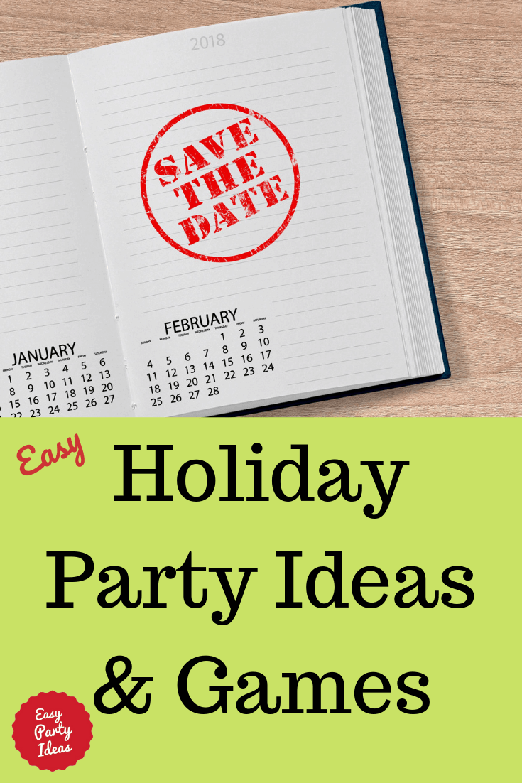 Holiday Party Ideas and Games