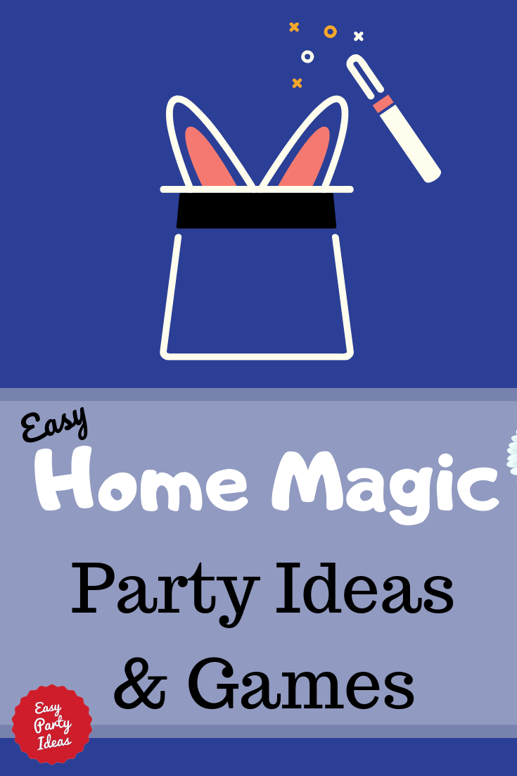How to host a home magic party