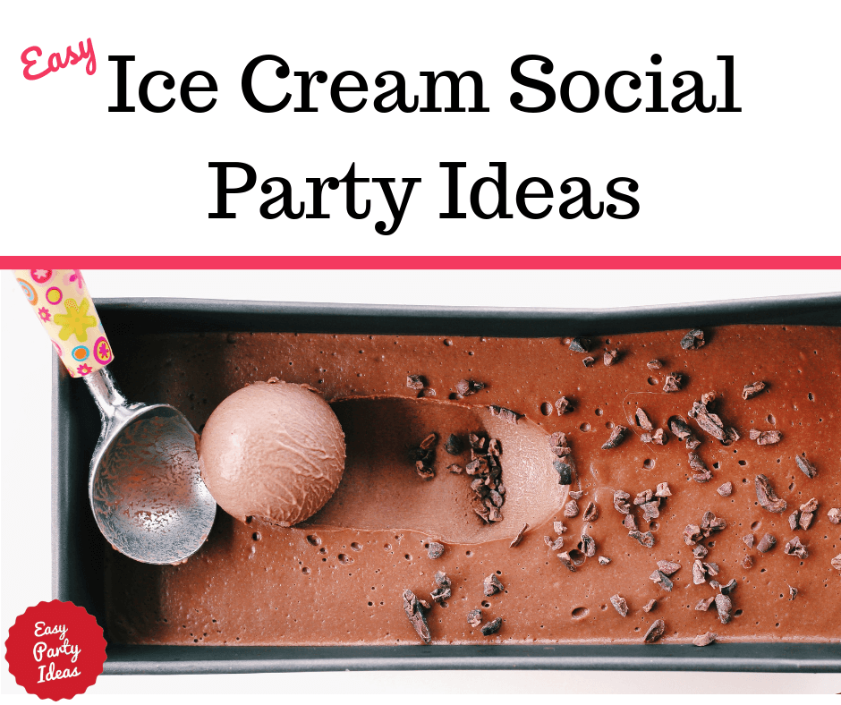 Host an Ice Cream Social!