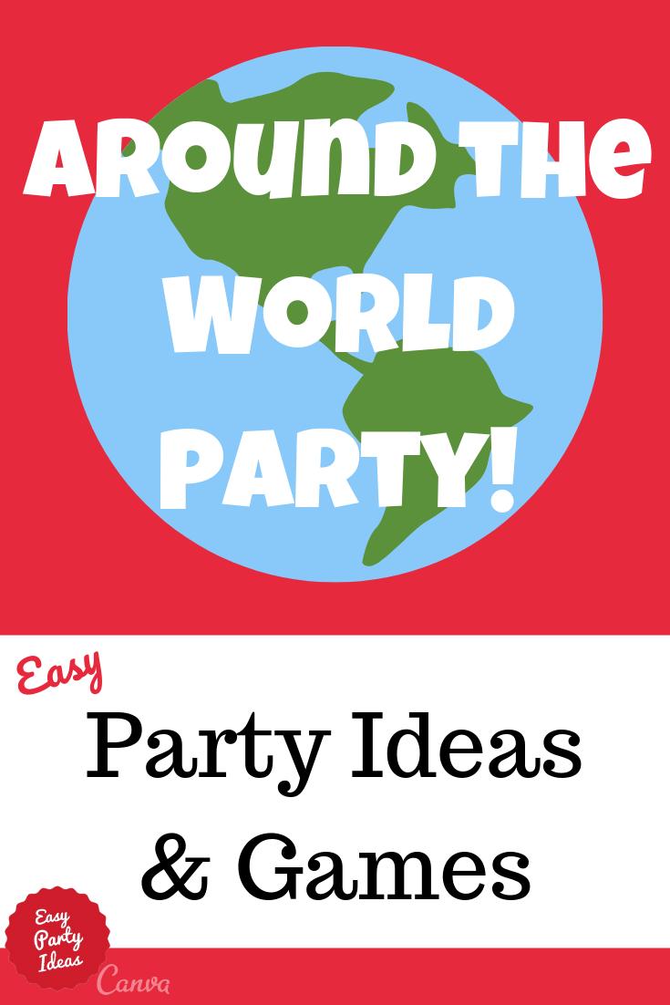 Kid Around The World Party