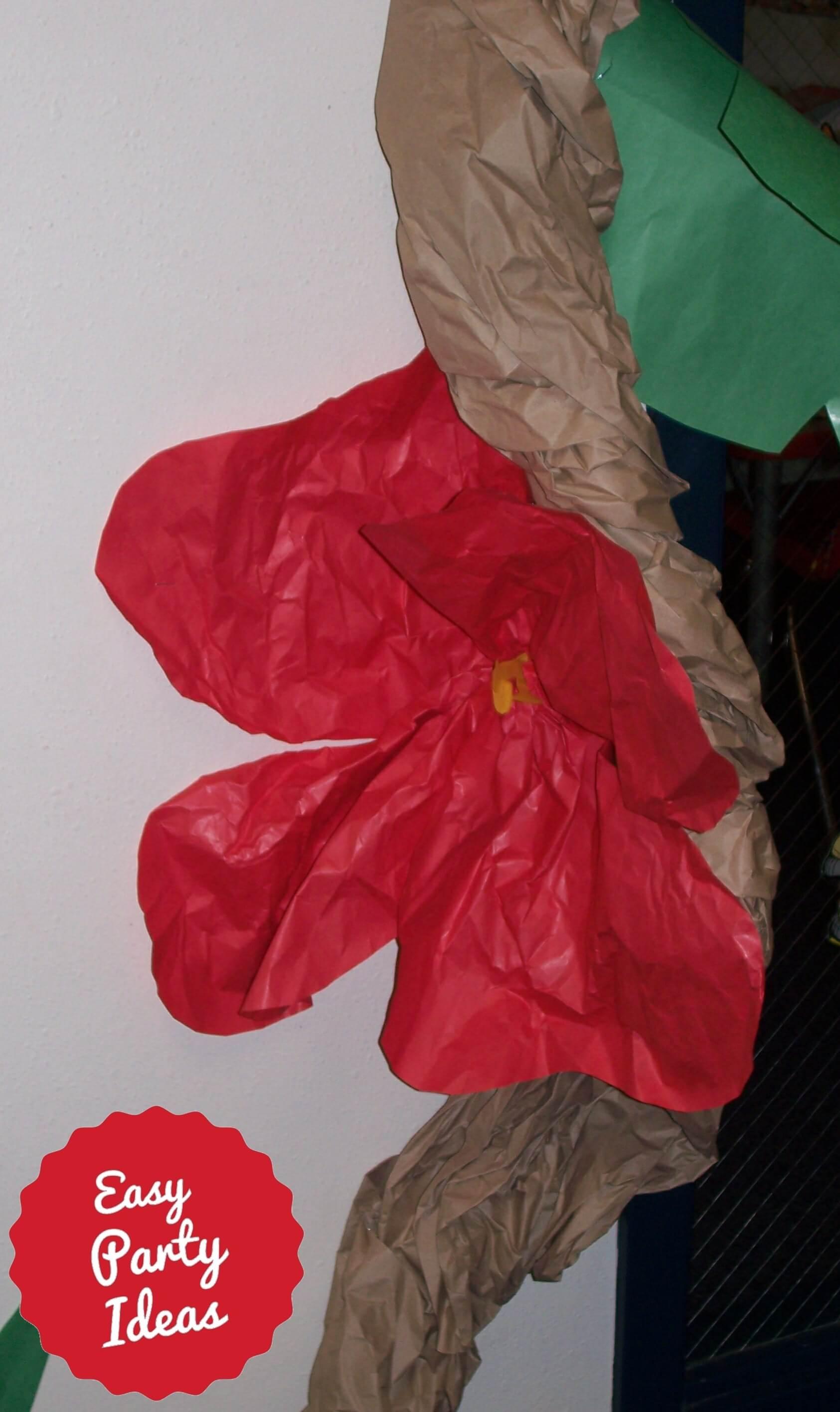 Luau Flower Decoration
