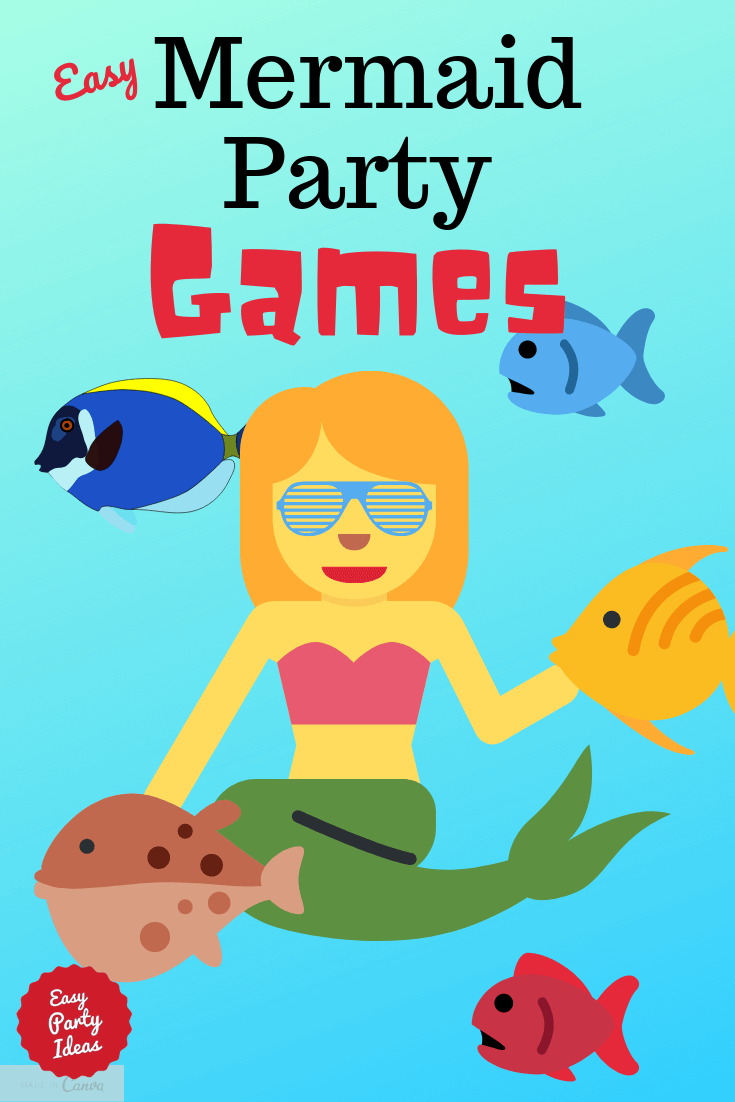 Mermaid Party Games
