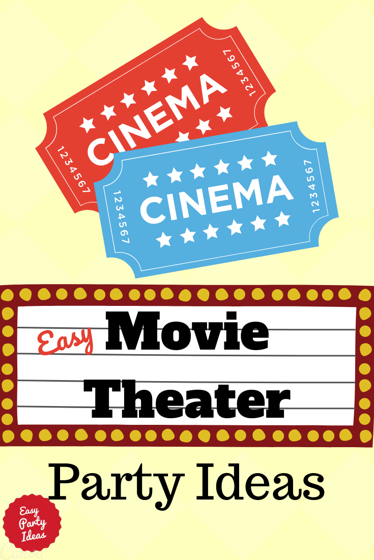 How to Host a Movie Theater Party