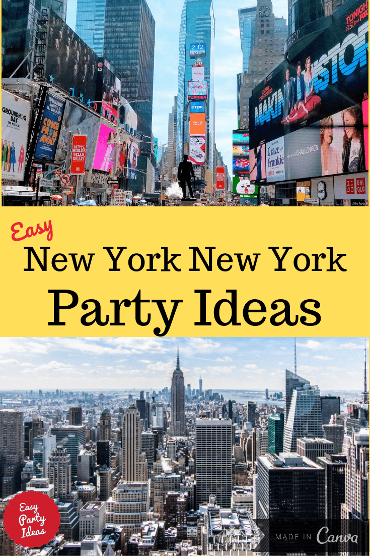 New York Party Ideas