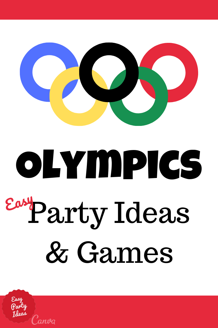 Olympics Party Ideas and Games