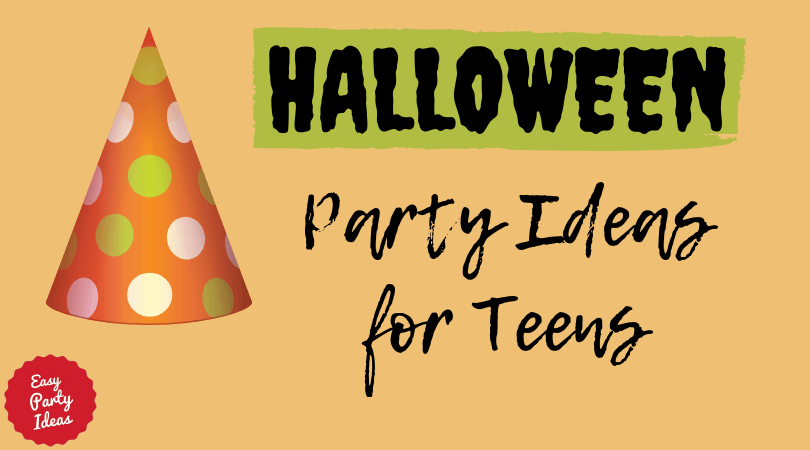 Halloween Party Ideas for Teenagers
