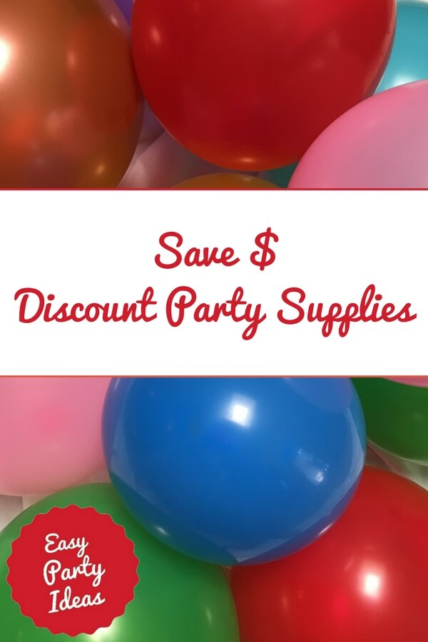Save on Party Supplies