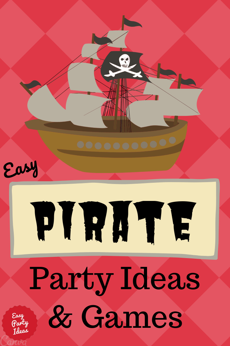 Pirate Party Ideas and Games