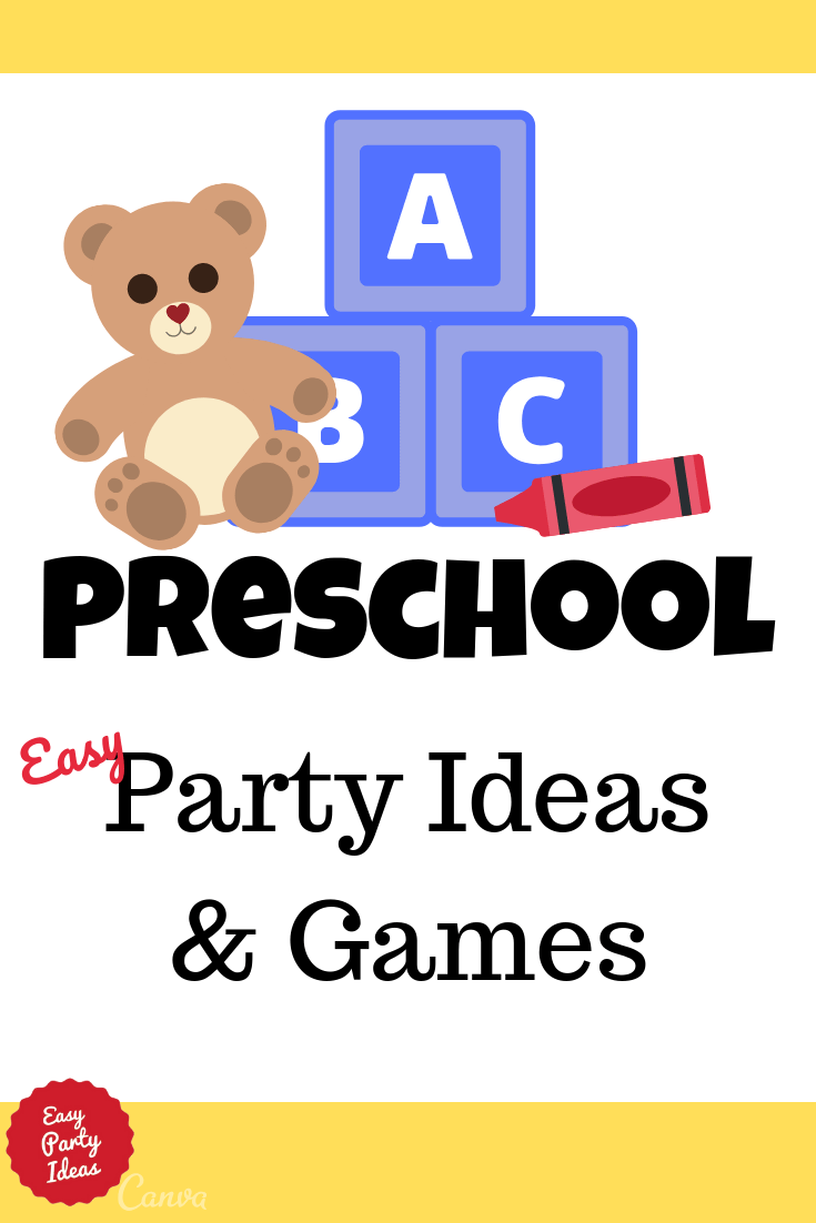 Tips for Preschool Parties